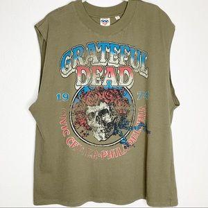 GRATEFUL DEAD Sleeveless Graphic Band Tee